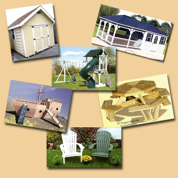 Anne Arundel MD Sheds Swingsets Playhouses